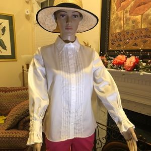Coldwater Creek - White Dress Blouse